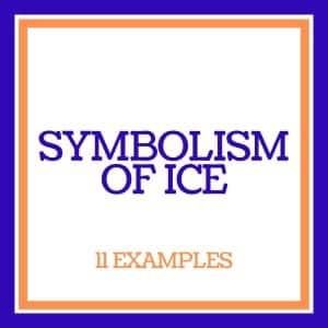 symbolism of ice