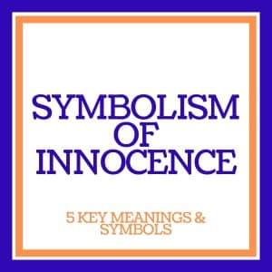 symbolism of innocence text banner image