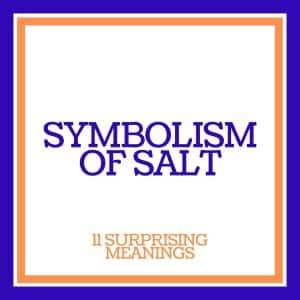 symbolism of salt