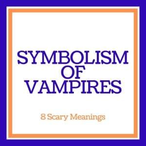 symbolism of vampires