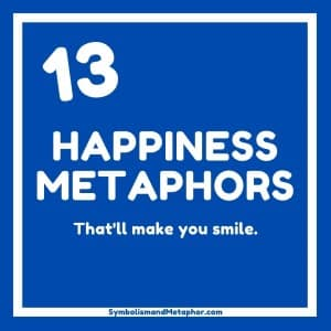 happiness metaphors, idioms and similes that'll make you smile