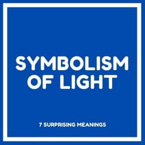 symbolism of light text inside a box