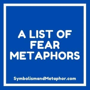 fear metaphors and idioms