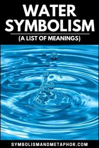 water symbolism