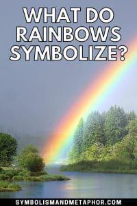 what do rainbows symbolize