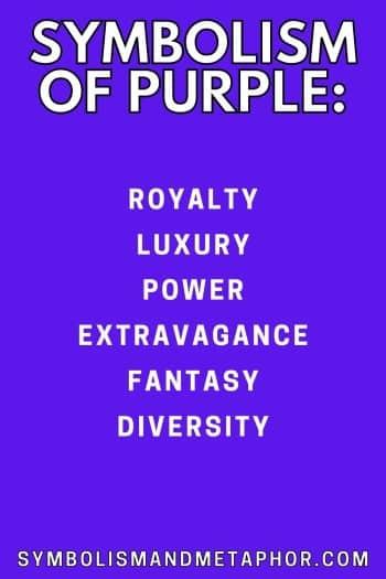 symbolism of purple