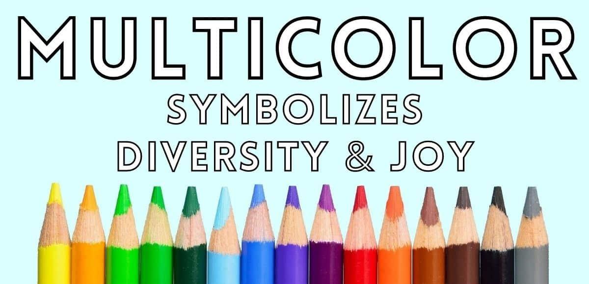 multicolor symbolism