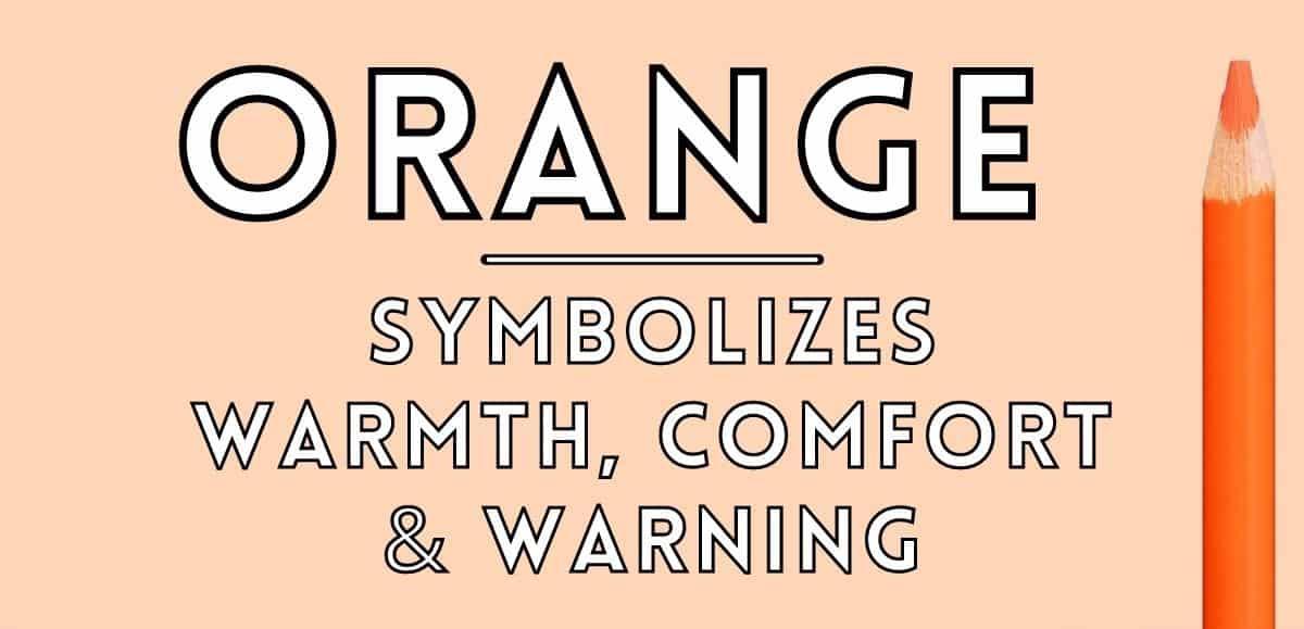 orange symbolism