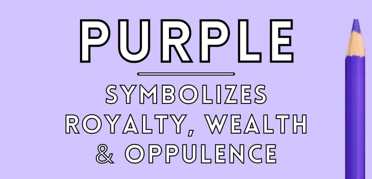 purple symbolism